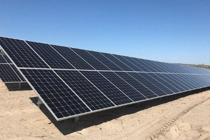 Solar Station Construction in Zaporozhye Has Completed